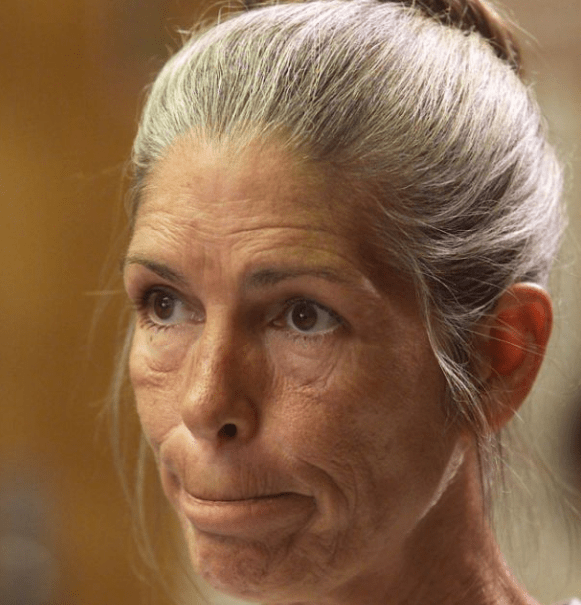 Image of Leslie Van Houten, one of the members of the Manson family.