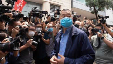 Photo of Hong Kong Media Baron Jimmy Lai Arrested Under Controversial National Security Law