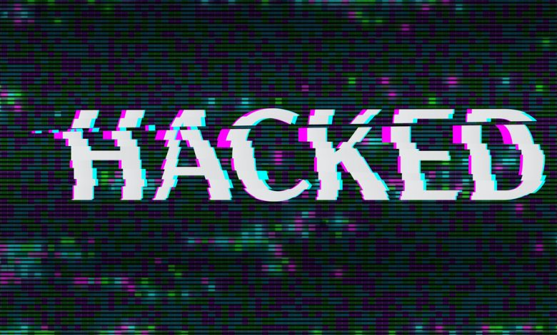 Word hacked distorted.