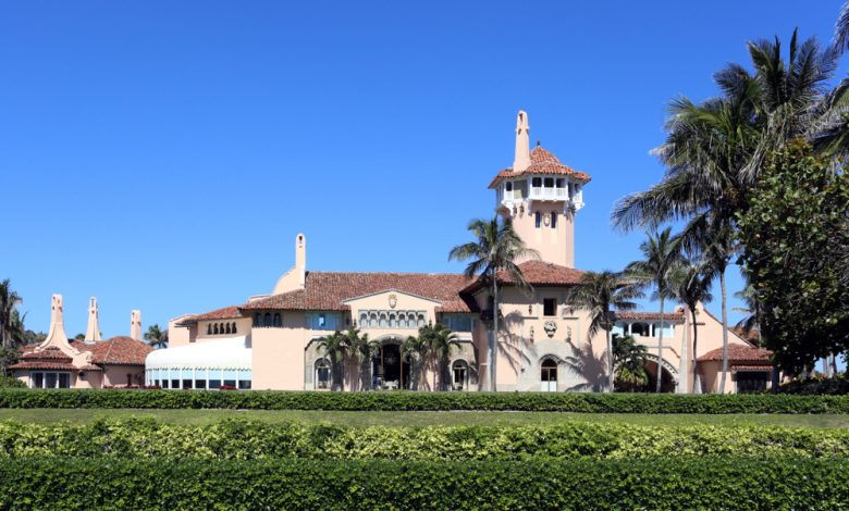 The Mar-a-Lago resort in Palm Beach, Florida.