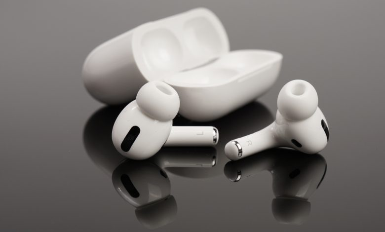 Image of Apple AirPods.